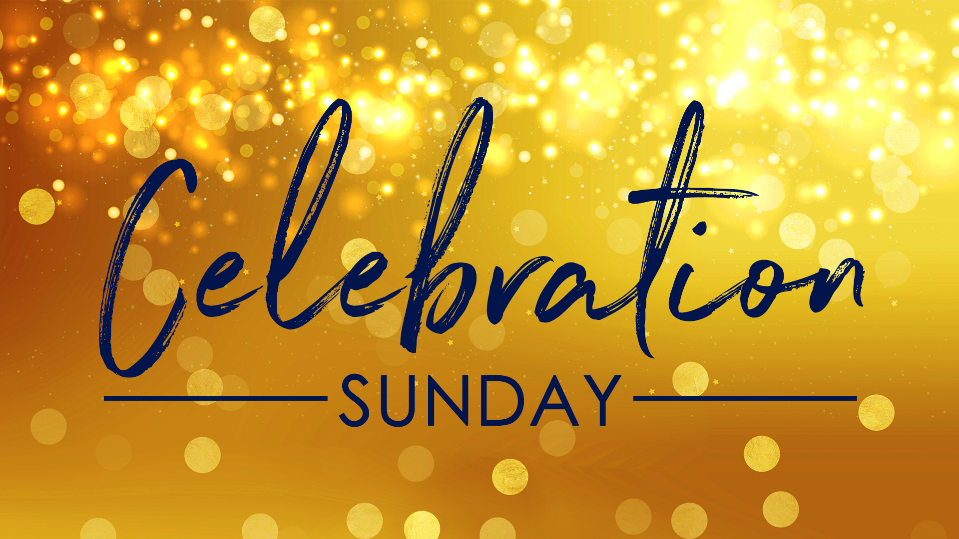 Celebration Sunday 2019